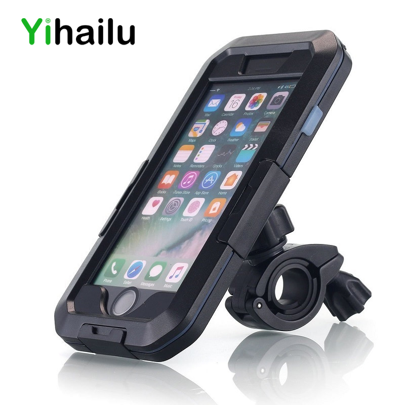 For iPhone Xs Max Waterproof Case Shockproof Bike Motorcycle Outdoor Holder Cases for iPhone Xr Xs Hiking/Skiing/Surfing Box