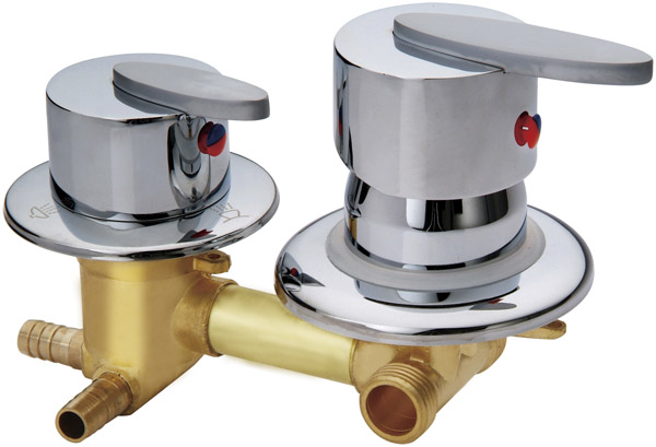 Copper shower room 2/3/4/5 way water outlet shower room mixing valve switch, shower room accessories