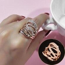 SINLEERY, модные, много кругов, крученые, широкие кольца, розовое золото, серебро, цвет, Мирко, проложили, чистый CZ камень, Женские Ювелирные изделия, Anel JZ016 SSB