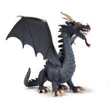 Jurassic World Solid Blue Dragon Model Simulation Dinosaur Magic Spitfire Boy PVC Toy