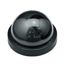 Fake Decoy Dummy IR Dome Camera Home Security Cameraw Fake IR CCTV Camera Fake Simulation CCTV Camera for Home Security Safety