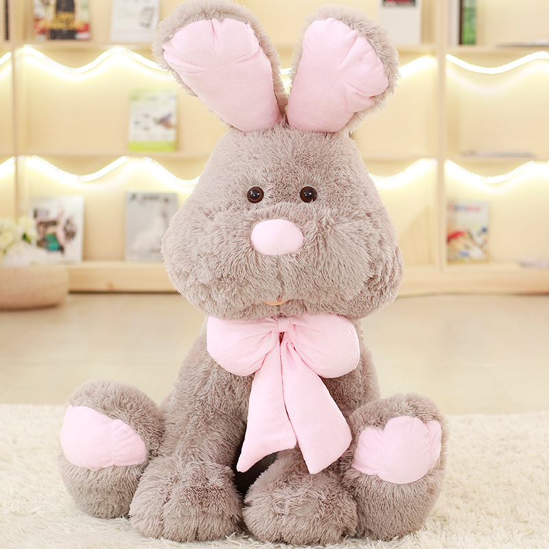 1pc 50 70 80 90cm Cute American Rabbit dolls Large bunny toys rabbit brinquedos Quality peluche