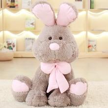 1 шт. 50/70/80/90 см милый Американский куклы-кролики большой Банни игрушки Кролик brinquedos качество peluche роскошные ткани заполнения детский подарок