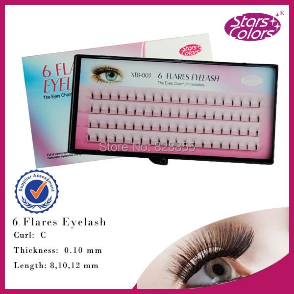 6D valse wimpers 0,10 mm C Curl individuele wimpers Zachte - Make-up