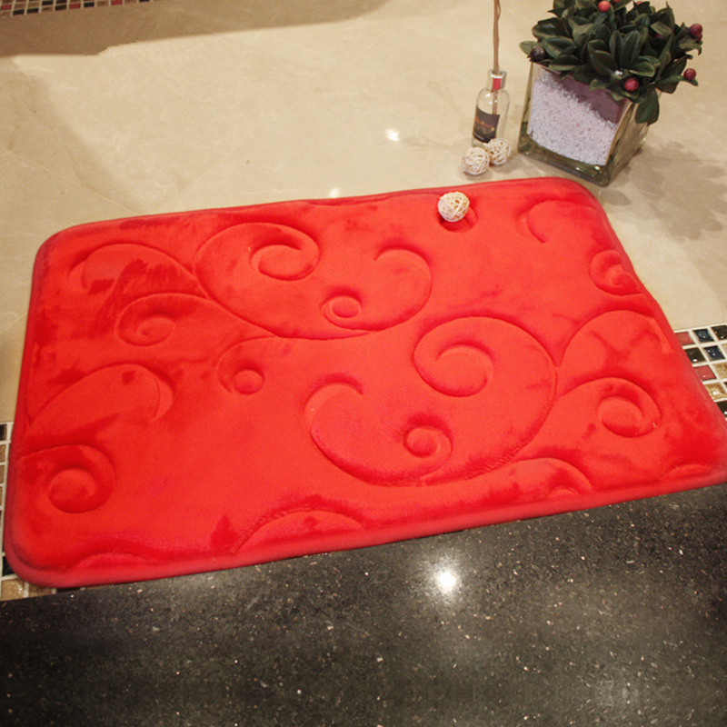 popular red bath rug-buy cheap red bath rug lots from china red