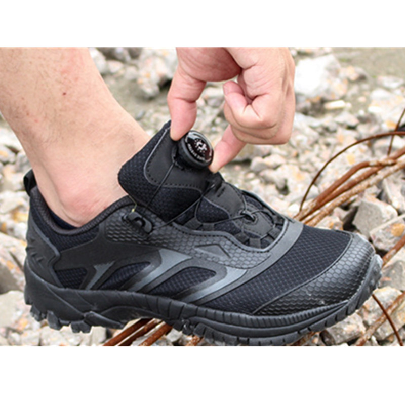 Ultralight Outdoor Sports Training Quick Release Shoes Army Fan Hunting Camping Climbing Tactical Desert Hiking Breathable