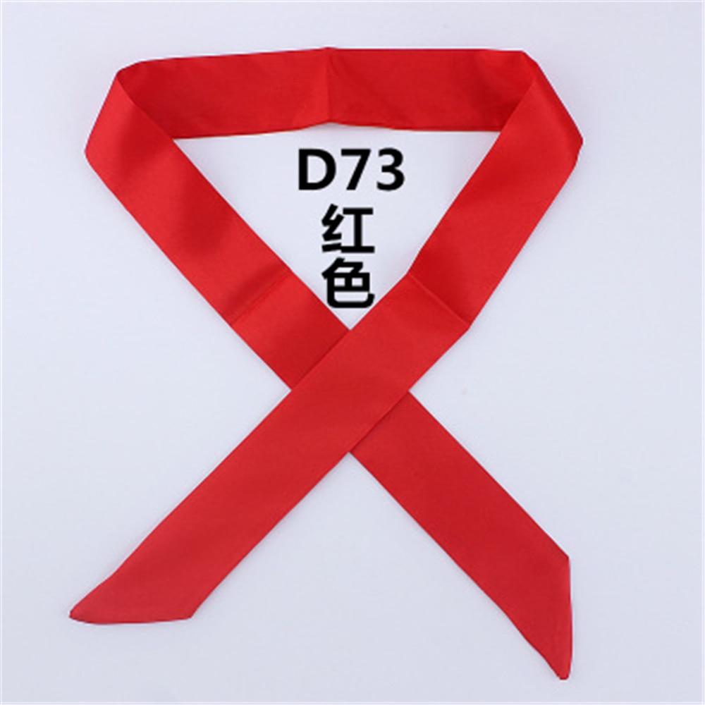 1PC New Hangzhou Silk Hair Headband For Girls Men Multipurpose Small Ribbons Tie Bag Scarves Women Men Gifts Hair Accessories