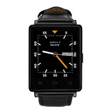 NO. 1 D6 1,63 zoll 3G Smartwatch Für Android 5.1 MTK6580 Quad Core 1,3 GHz 1 GB RAM GPS WiFi Bluetooth 4,0 Herzfrequenzmessung