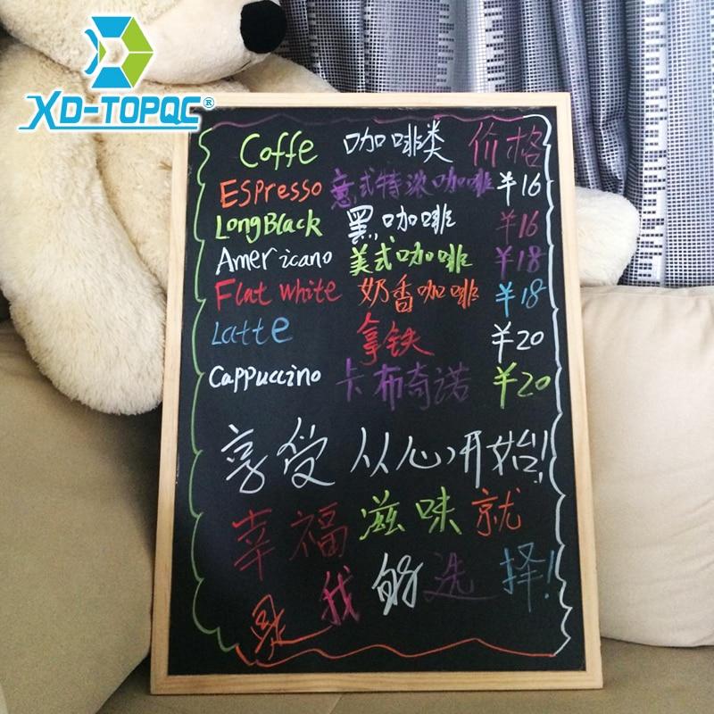 New 2018 Wood Frame Magnetic Blackboard Chalkboard Office Supplier 60*90cm Factory Direct Sell Home Decorative Free Accessories текстиль для фонового оформления 60 90cm