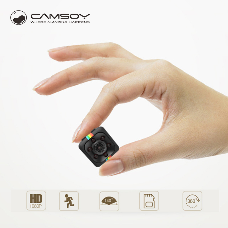 Camsoy SQ11 Mini Camera Full HD 1080P Night Vision Camcorder DVR DV For Home Baby Security Mini Cam