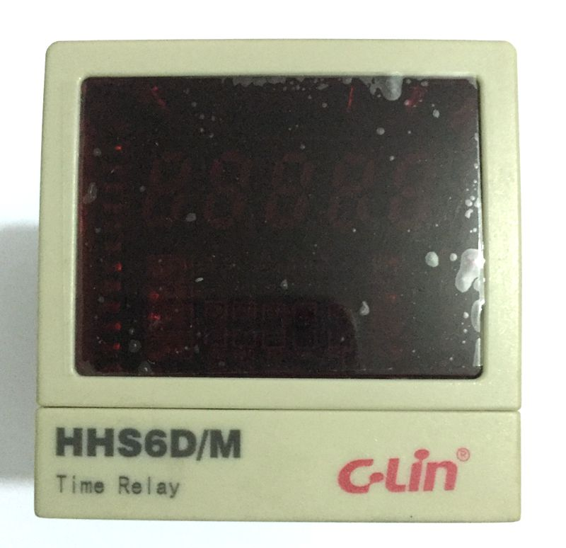 C-Lin Yan Ling HHS6D / M programmable multi-loop digital display time of the second loop relay AC220V плед yan lin in foreign trade vs
