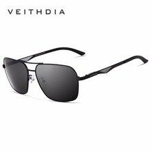 2017 New VEITHDIA Polarized Brand Designer Sunglasses Men Women Vintage Sun Glasses Eyewear gafas oculos de sol masculino VT2459