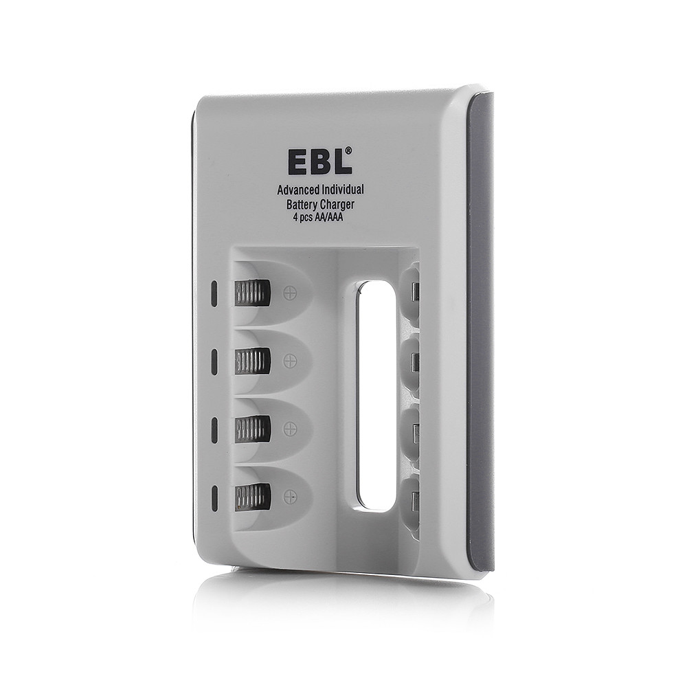 EBL 4 Slot Charger for 2300mAh AAA NI-MH NI-CD Battery Rechargeable Battery Charger free shipping