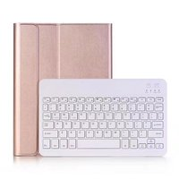 Ultra Slim Detachable Aluminum Bluetooth Keyboard PU Leather Case Cover For Apple Ipad Pro 10 5