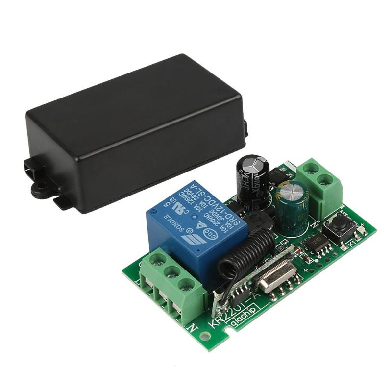 QIACHIP-433-Mhz-Wireless-Remote-Control-Switch-110V-220V-1CH-433Mhz-relay-Receiver-Module-For-learning (2)