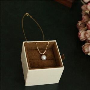 Image 2 - Natuurlijke Parel Choker Gold Filled Ketting Handgemaakte Vintage Charm Sieraden Collier Bijoux Femme Collares Boho Ketting Voor Vrouwen