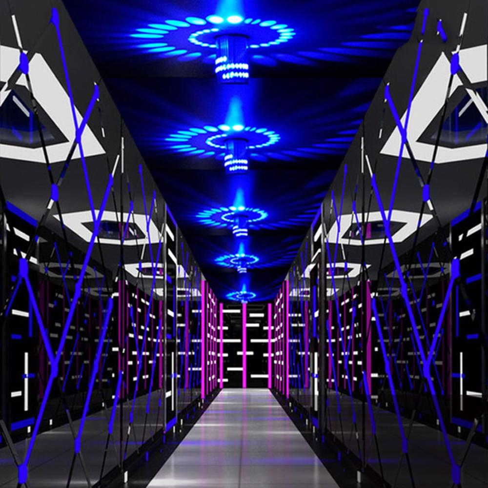 3 Вт LED Современный стиль Настенный Светильник Алюминий Внутреннее Освещение Для КТВ Бар Украсить Коридор Светильник Бра Фон Лампы CA