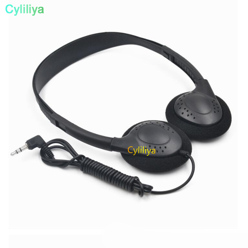 500pcs Wholesale Over the Head Low Cost earphones in Bulk Earphones Earbuds For Library Classrooms Hospital