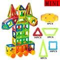 Mini bloques de juguete 80 unids 3d diy bloques de construcción magnética diseñador super robot ladrillos enlighten juguetes para niños regalos de navidad