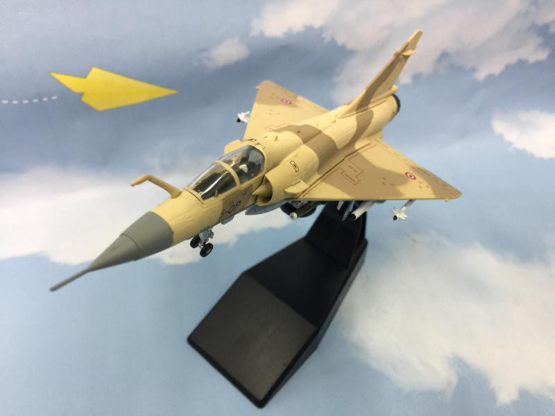 <font><b>1:100</b></font> alloy Mirage 2000 bomber,French simulation <font><b>aircraft</b></font> <font><b>model</b></font>,boutique collection,boys and children gifts,free shipping image