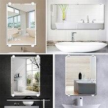 Фиксированное Крепление Зеркала для ванной комнаты, стеклянное зеркало Hinger, фиксированные Аксессуары, рекламная пластина, стеклянный зажим, фиксированное зеркало