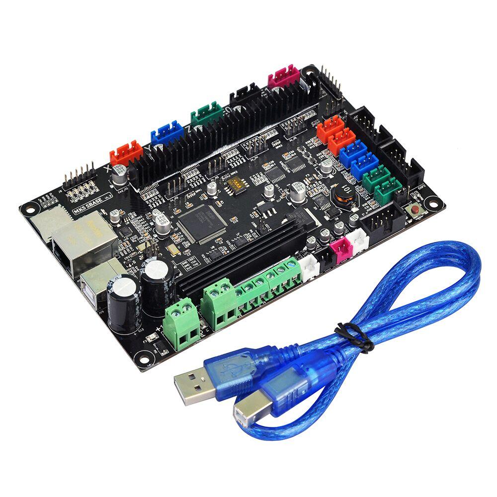 MKS base imprimante 3D 32bit bras plate-forme lisse carte de contrôle MKS SBASE V1.3 + MKS TFT32 3.2 ''écran tactile LCD - 6