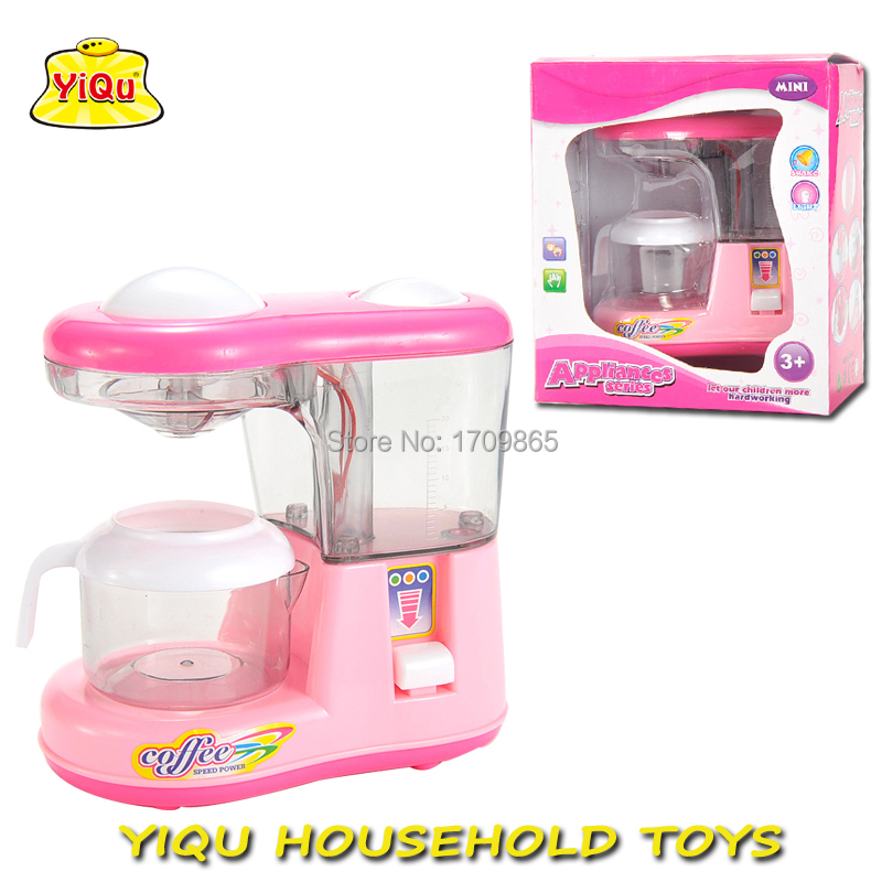 Hot Simulation Toy Coffee Machine Pretend For S Kitchen Toys Set Electronic Play Operated