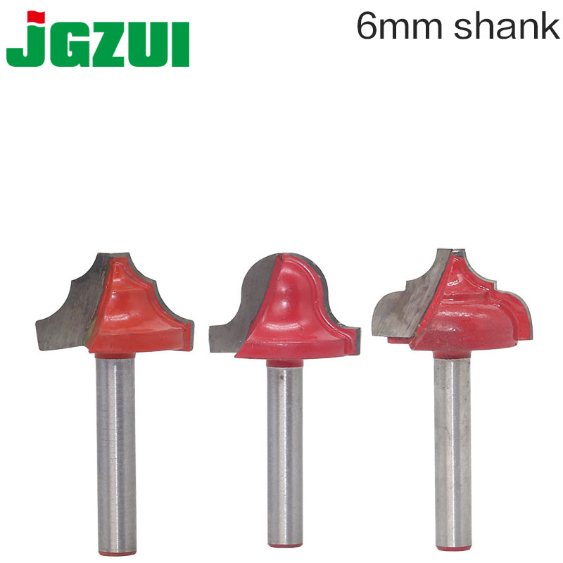 1pc6mm Shank Wood Router Bit Straight End Mill Trimmer Cleaning Flush Trim Corner Round Cove Box Bits Tools