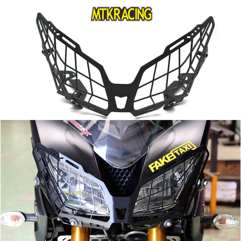 MTKRACING For YAMAHA FZ-09 MT-09 FJ-09 FZ09 MT09 Tracer 2015-2018 Motorcycle modification Headlight Grille Guard Cover Protector mtkracing motorcycle accessories headlight grille guard cover for honda cb500x cb 500x 2016 2017