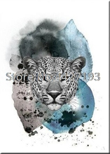 5D DIY Diamond Embroidery Animal Leopard Diamond Painting Cross Stitch Full Drill Mosaic Decoration Home Decor 5d diy diamond painting full drill animal two phoenix diamond embroidery cross stitch kit mosaic decoration home decor