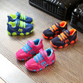 New Kids Running Shoes 2017 Spring Summer Mesh Breathable Children Casual Sneakers Color Patchwork Boys Girls Kids Shoes