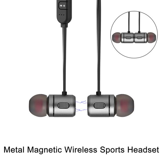 Deep Bass Bluetooth Earphones with Microphone