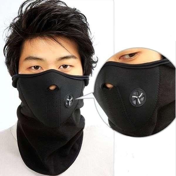 5f1fc526cd9 Wind Stopper Face Mask Thermal Fleece Balaclava Hat Hood 6 In 1 Ski Bike  Neck Warmer