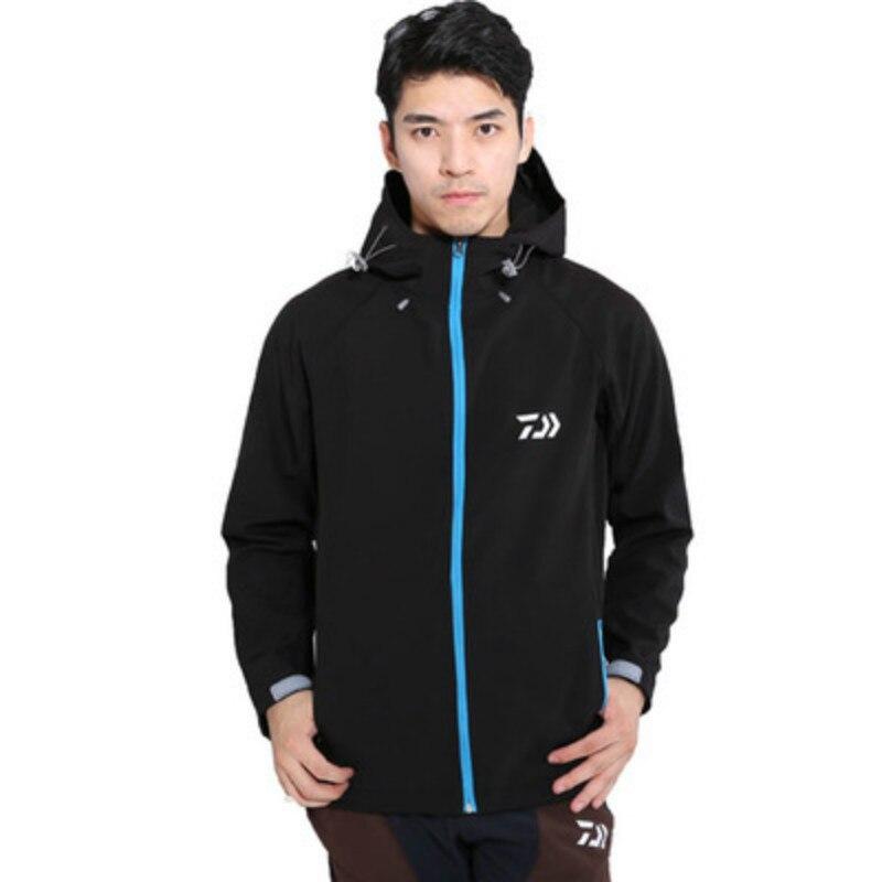 2018 automne hiver nouvelle veste de pêche DAIWA polaire chaud imperméable respirant vêtements de pêche Zipper réfléchissant vêtements de pêche