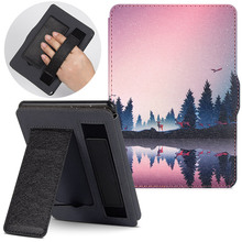 BOZHUORUI Case for Amazon Kindle Paperwhite1/2/3(7th Generation-2012/2013/2015/2017 Release)e-Books DP75SDI Handheld Stand Cover