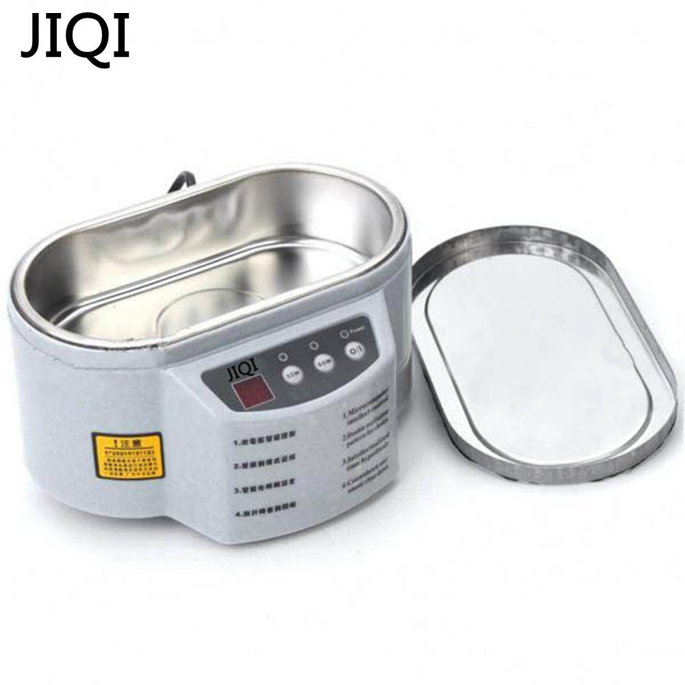JIQI Hot Sale Smart Ultrasonic Cleaner for Jewelry Glasses Circuit Board Cleaning Machine Intelligent Control Ultrasonic Cleaner jiekangps 08a 1 3l digital ultrasonic cleaner for filter injector cleaning and auto parts jewelry glasses circuit board cleaning