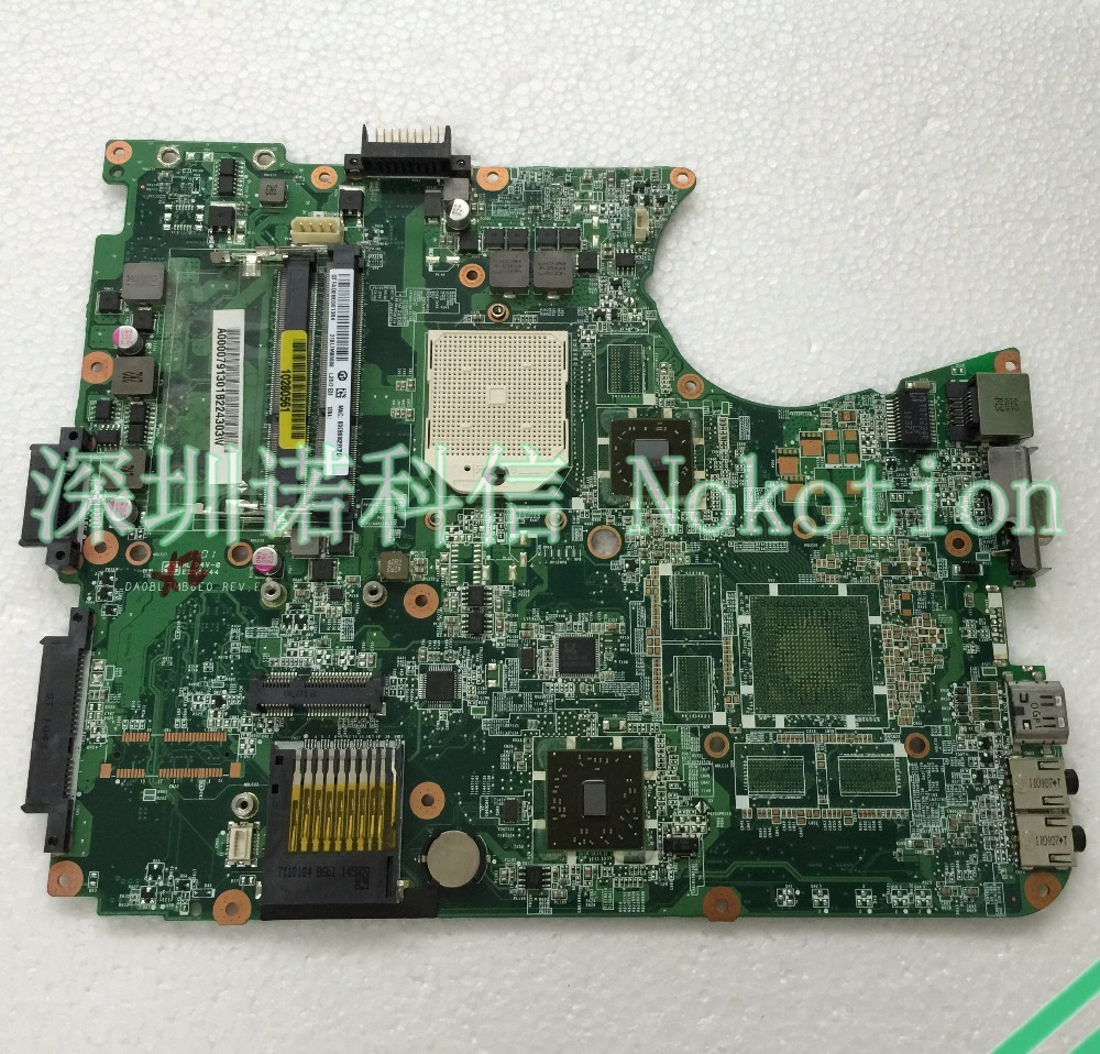 NOKOTION laptop Motherboard For Toshiba Satellite L655D Amd s1 ddr3 A000079130 DA0BL7MB6E0 nokotion a000076380 laptop motherboard for toshiba satellite l655d l650d socket s1 ddr3 da0bl7mb6d0