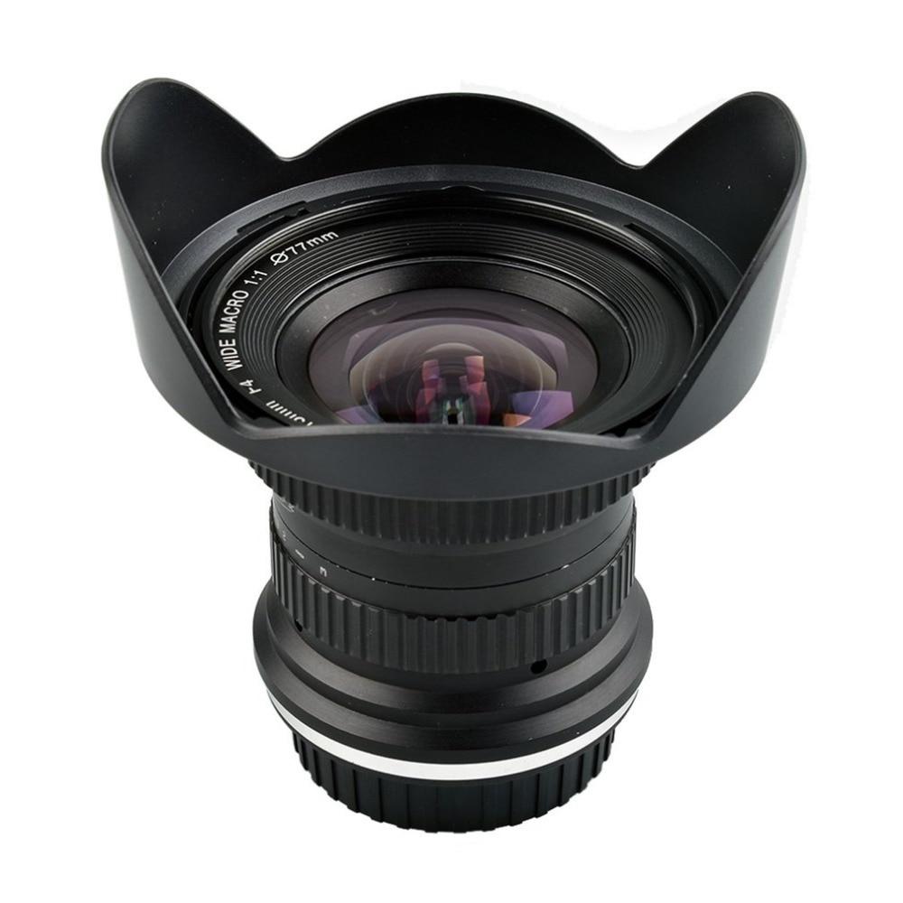 15mm F/4 F4.0-F32 Ultra Grand Angle 1:1 Macro objectif pour canon Nikon REFLEX Numérique appareils photo reflex numériques