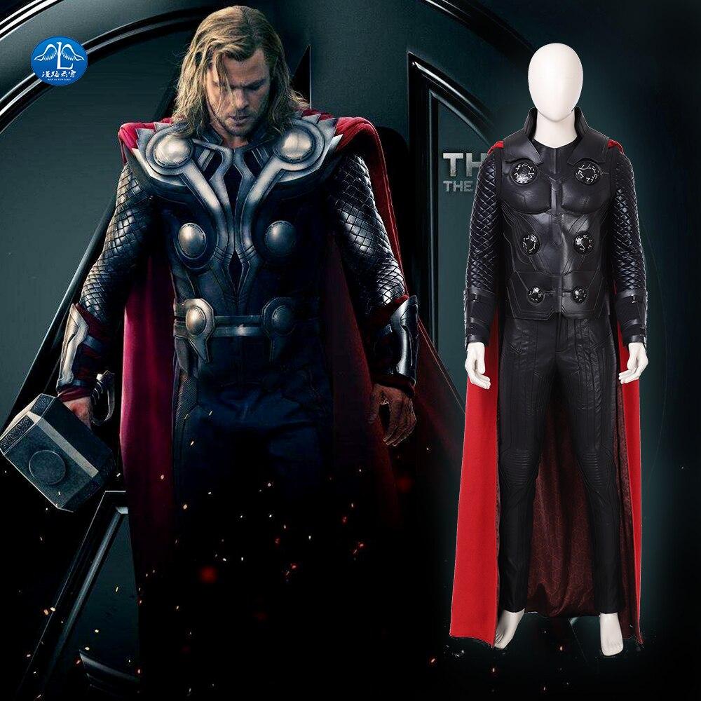 New Thor Ragnarok Cosplay Odinson Costume Men 3 Halloween For Custom Made