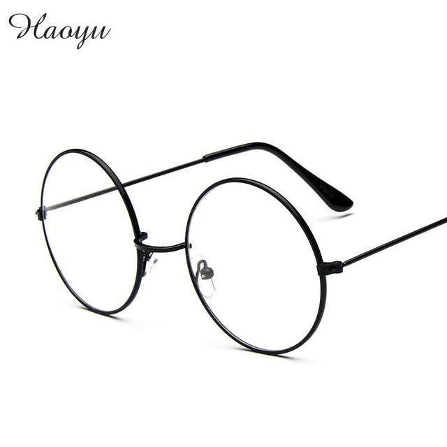 Haoyu модные волшебника Гарри Поттера Тип оправ для мужчин и женщин Круглый  оптический очки рамки oculos 08905a0fdd34f