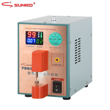 SUNKKO 796SD Spot Welder Intelligent Precision Pulse Spot Welding Machine For Metal Stainless Steel Iron-nickel Butt Welding - discount item 35% OFF Tools