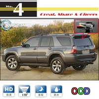 For TOYOTA 4Runner 4 Runner SW4 N210 / Hilux Surf Car Camera High Quality Rear View Back Up Camera NTSC To TG Tuning | CCD + RCA