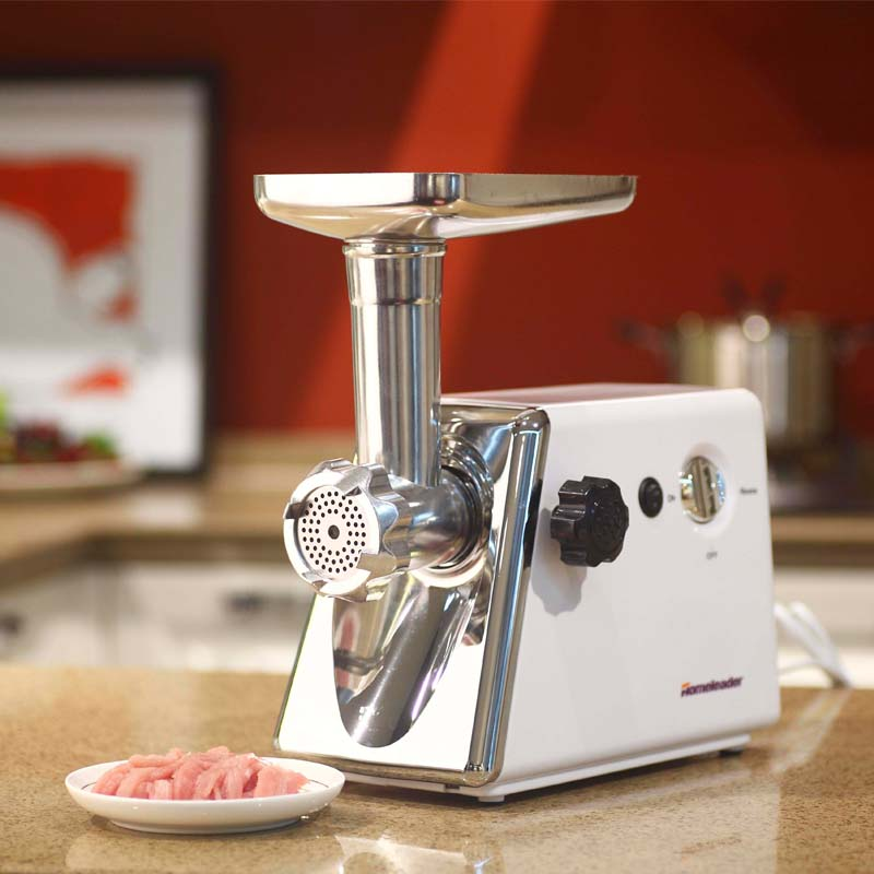 Homeleader Electric Household Commercial Meat Grinder Machine,Sausage Maker and Meat Mincer/Crusher White K18-011