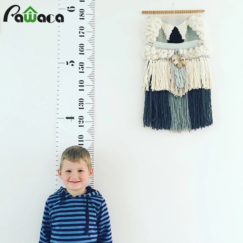 Wall Art Hanging Height : Wall hanging growth chart height measurement rulers
