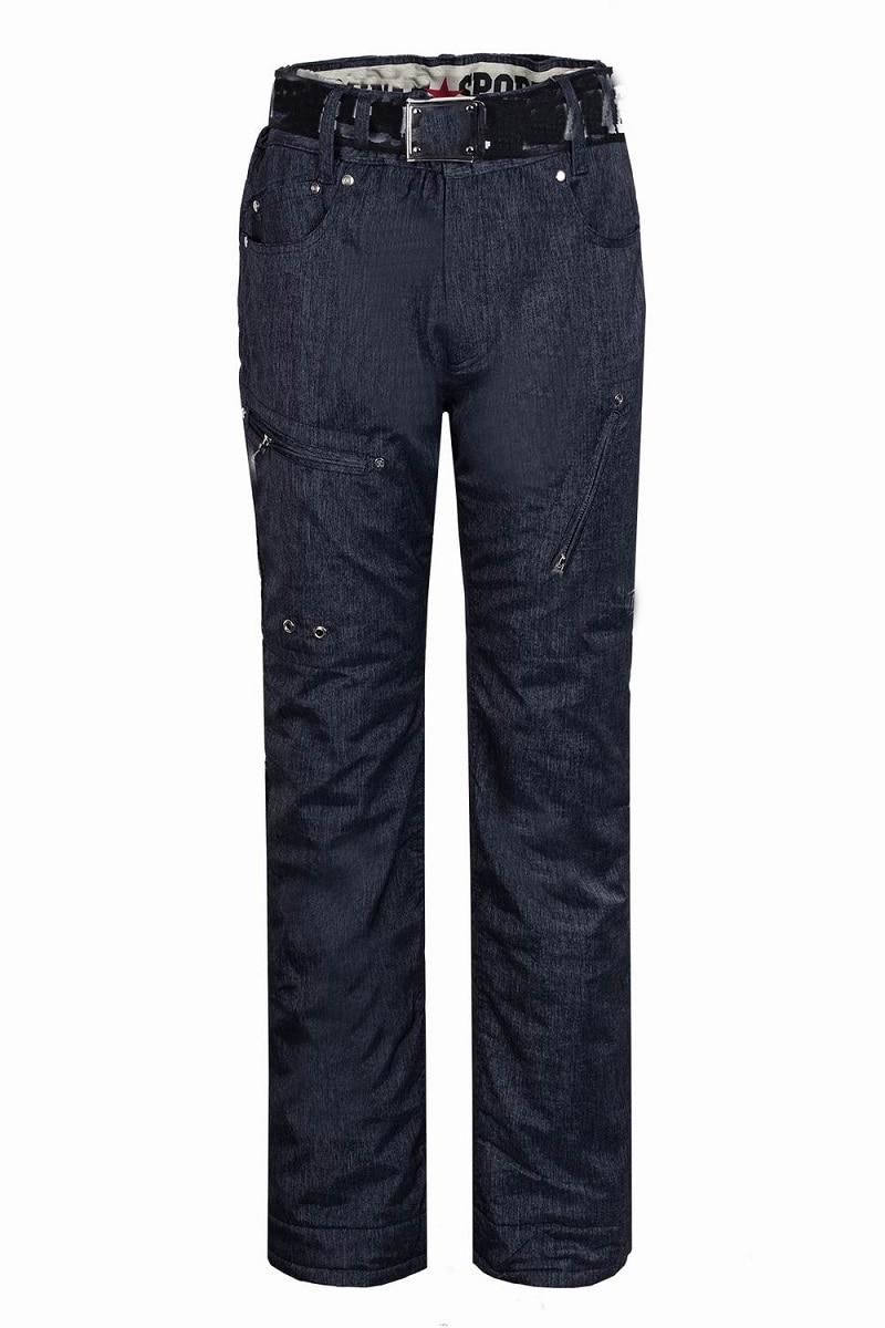 Prix pour 2016 Hommes D'hiver Ski et Snowboard pantalon de cow-boy ski pantalon Ski pantalon de Snowboard imperméable tissu CADEAU GRATUIT un gant 1115