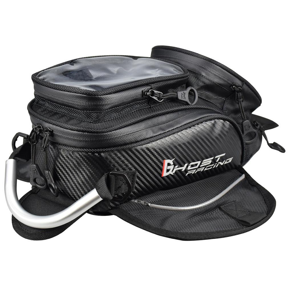Премиум топливный бак сумка для мотоцикла Магнитный открытый кошелек сумки нейлоновая сумка для мотоцикла Dirt Bike Двойной спортивный черный