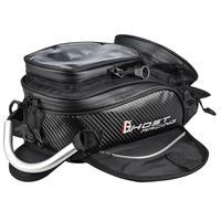 Bolsa de tanque de combustible para motocicleta, bolsa magnética para exterior, bolsa de nailon para motocicleta, deporte Dual negro