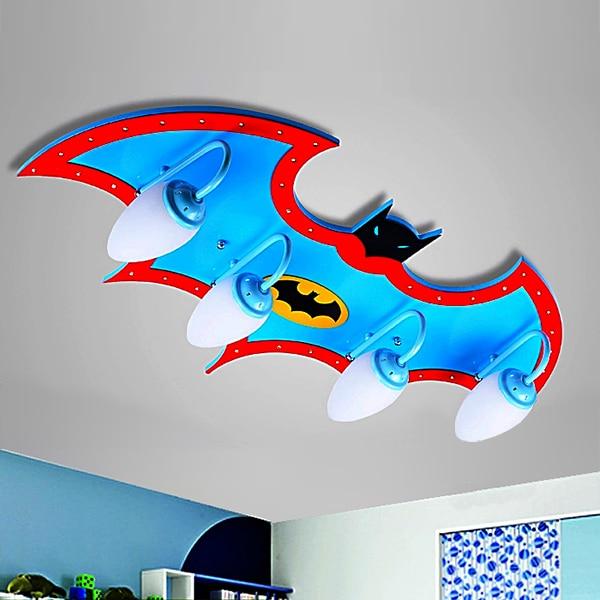 Modern Creative children's room revenge union ceiling boy bedroom cartoon led aircraft lighting
