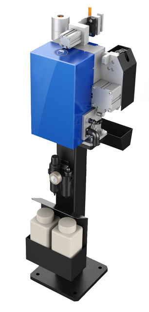 """Robot welding Torch cleaning station """"TCS - PP"""" """"plug-in and Play...""""The machine equipment"""