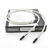Бесплатная доставка пара TARA LABS премьер m2 a of8n медной экранирующей оплеткой HiFi соединительный кабель с RCA разъем